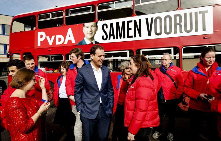 PvdA-lijsttrekker Lodewijk Asscher. Beeld ANP