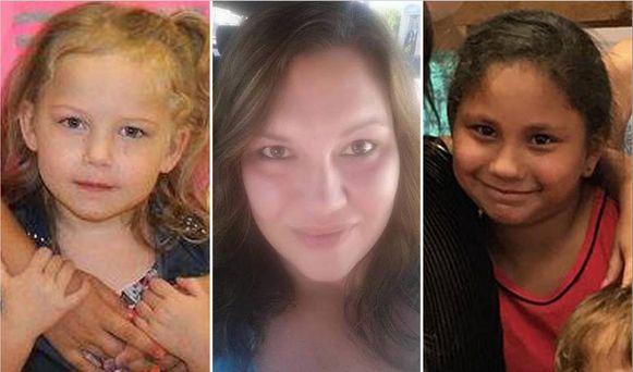 Brooke Ward, Joann Ward en Emily Garza, de zussen en moeder van de jongen, overleefden de aanslag in de kerk niet.