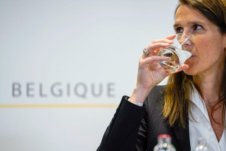 'Ze zat er als een verslaggever van de vergadering, niet als een premier', klinkt het bij de expert. Beeld Photo News
