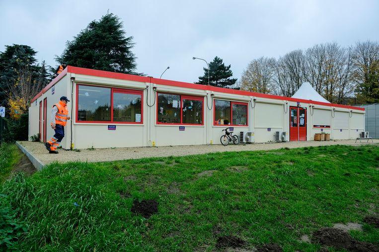 containerklassen voor school Openveld