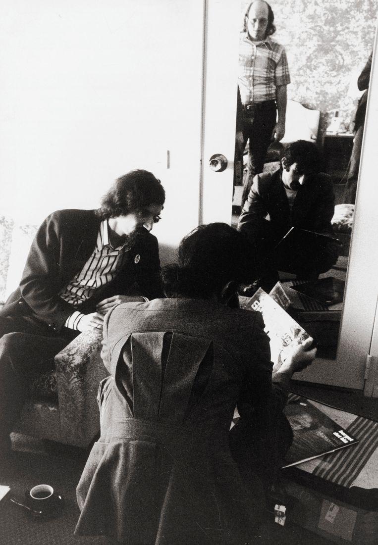 Frank Zappa en Guy Mortier Beeld Herman Selleslags
