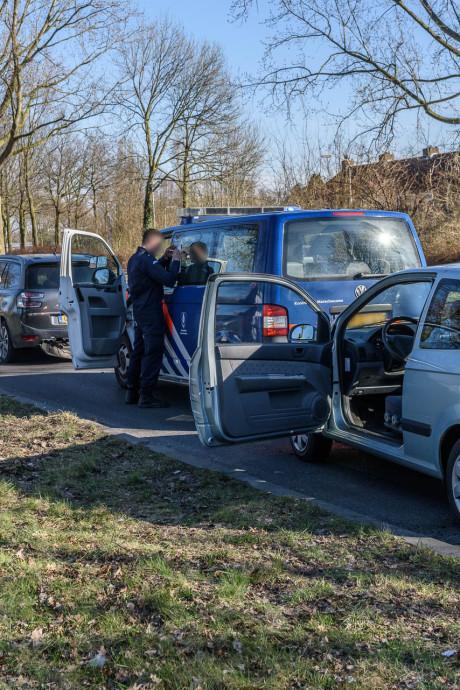 Kettingbotsing op Nieuwe Kadijk Breda: geen gewonden
