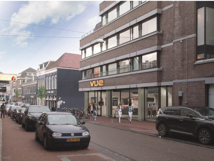 Een impressie van de nieuwe VUE-bioscoop in de Tweede Walstraat.