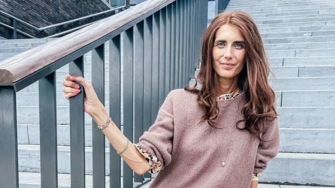 """COLUMN. Lara Switten (35), mama van 3 die strijdt tegen kanker: """"Elke opmerking over hoe vermagerd ik ben geeft me een dreun"""""""
