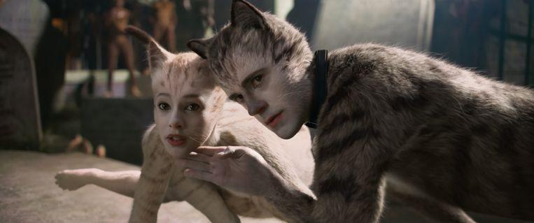 Still uit 'Cats'. Beeld Universal Pictures