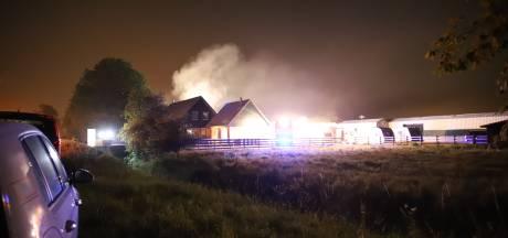 Brand in stalling niet aangestoken, door vakantie stonden er maar weinig caravans