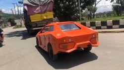 Geen geld voor een Lamborghini? Deze Indiër herbouwt zijn Suzuki