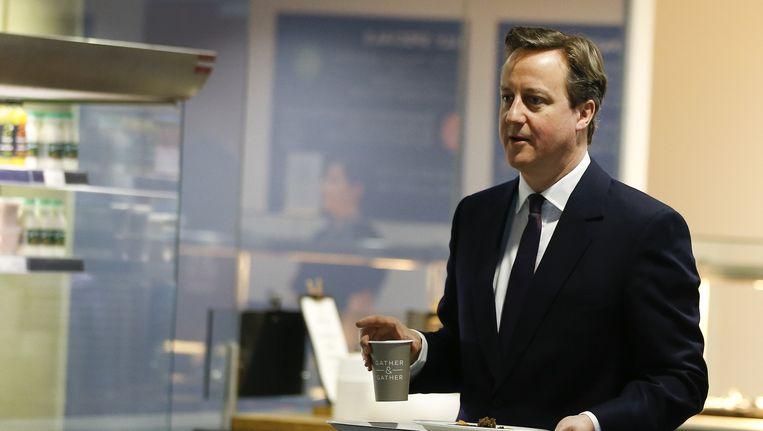 British Prime Minister David Cameron. Beeld AP