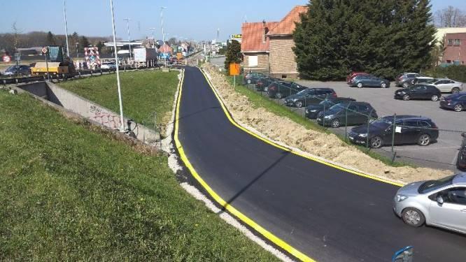 Werken rotonde Kampenhout-Sas in volgende fase