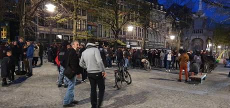 150 manifestants rassemblés à Liège pour dénoncer les mesures sanitaire