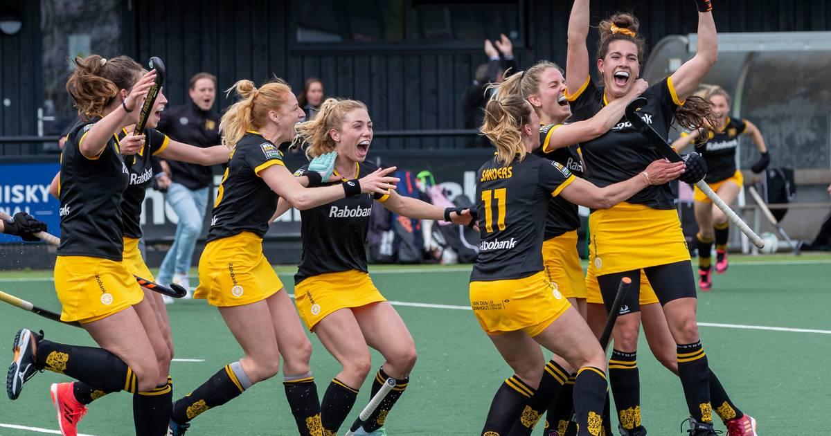 Matla schenkt hockeydames Den Bosch met doelpunt in slotseconde twintigste landstitel