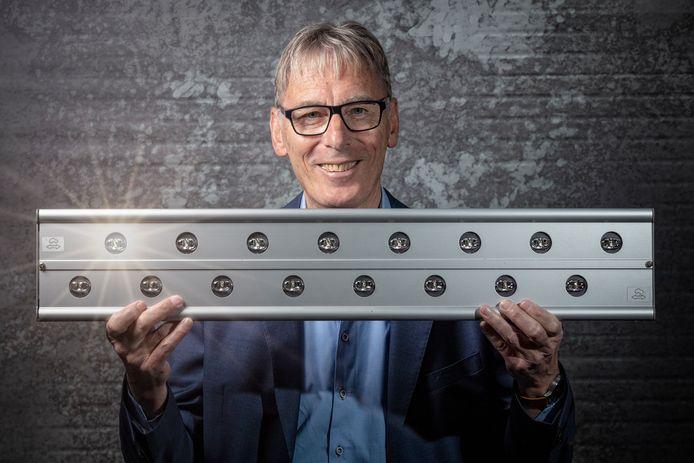 Willem Zandvliet uit Leimuiden past verschillende wetenschappen toe om energie te besparen en de verkeersveiligheid te verbeteren.