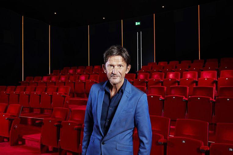 Mister Songfestival Cornald Maas: 'Het festival verbindt'.  Beeld Avrotros