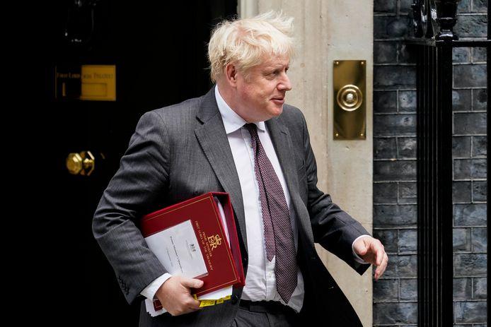 Britse premier Johnson herschikt de komende dagen zijn kabinet (AP Photo/Alberto Pezzali)