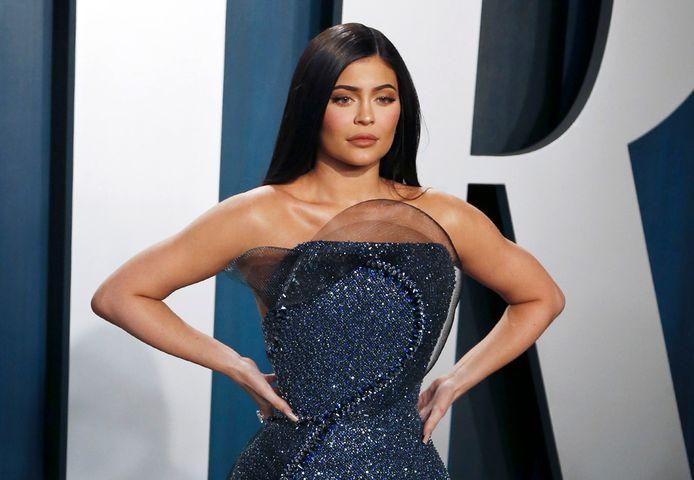 Kylie Jenner vorig jaar.