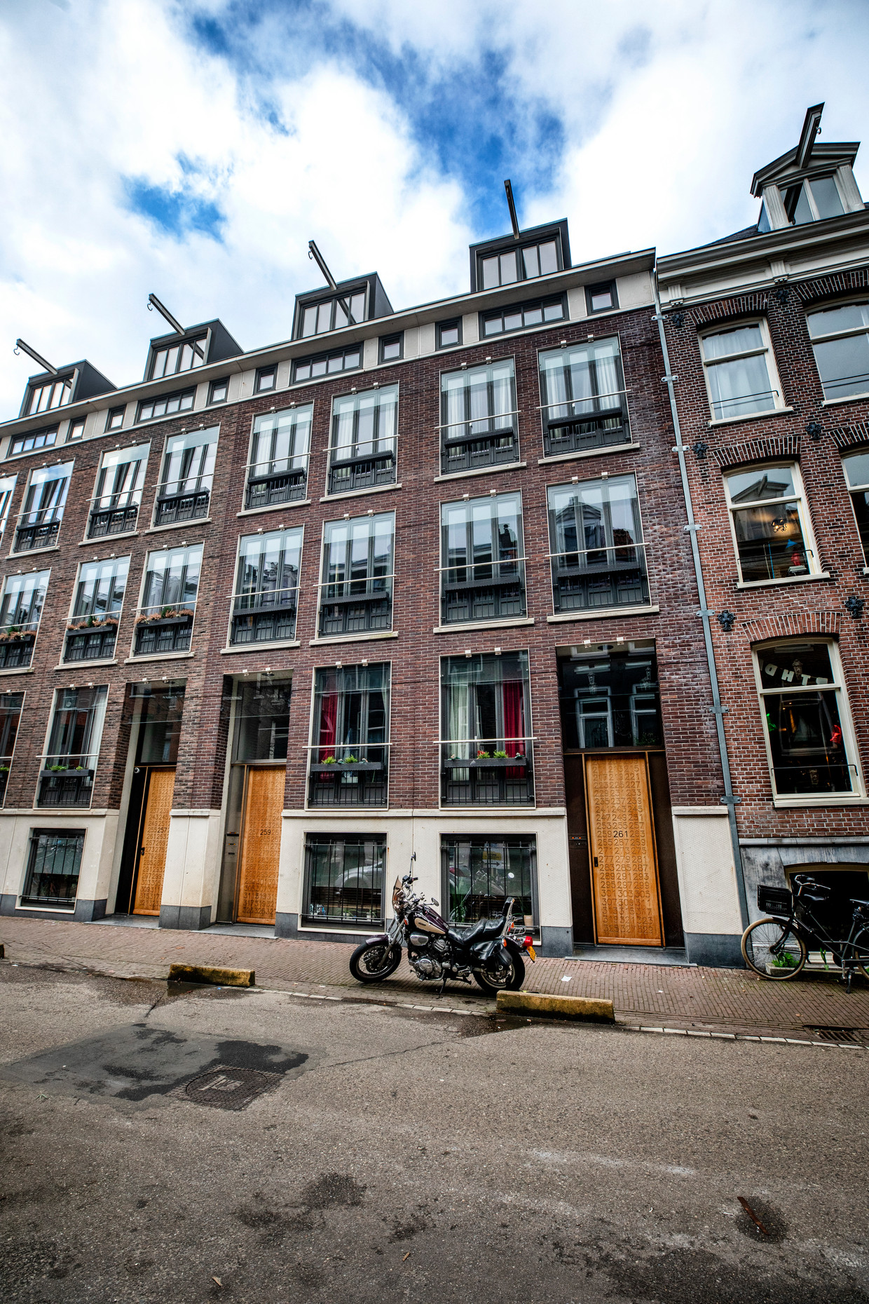 Govert Flinckstraat 259A, Amsterdam. Vraagprijs 500.000 euro. Verkoopprijs 660.000 euro. Beeld Raymond Rutting / de Volkskrant