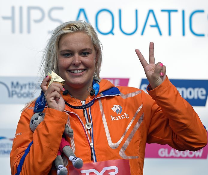 Sharon van Rouwendaal in 2018.