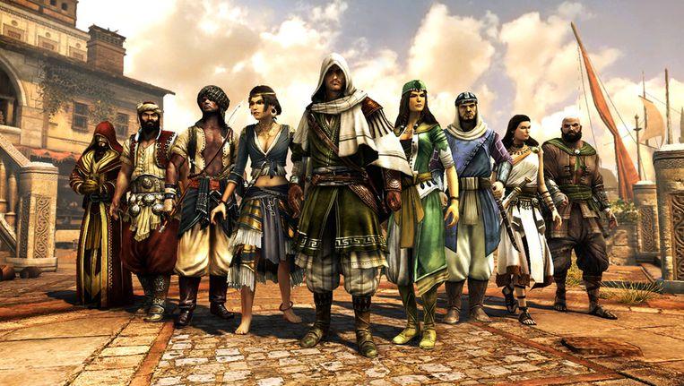 De singleplayermodus van 'Revelations' speelt zich af in Constantinopel, en dat merk je ook aan de personages in de multiplayer. Beeld UNKNOWN