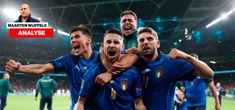 Waarom Louis van Gaal zo blij is met het Italië van Mancini