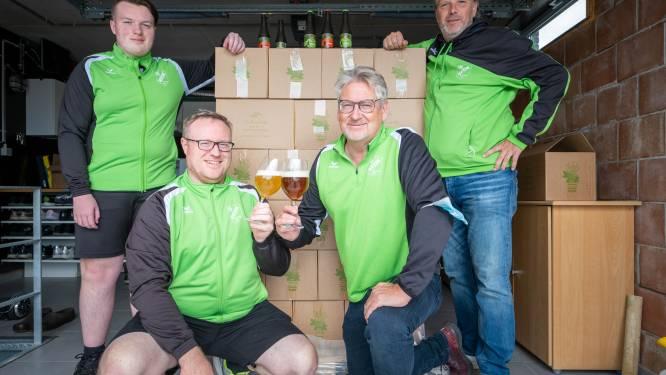 """Voetbalclub KFCM Hallaar komt met 'groen' en 'rood' bier: """"Precies op tijd klaar om mee verkocht te worden bij de mosselen"""""""