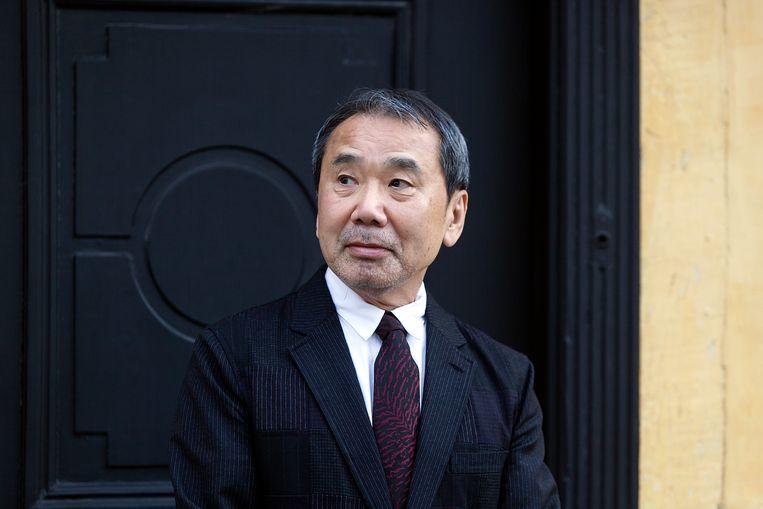 Japanse schrijver Harkuki Murakami. Beeld Corbis via Getty Images