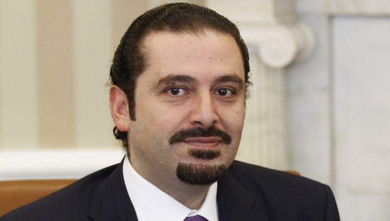 Saad Hariri Beeld REUTERS