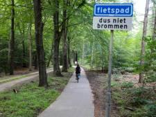 Opmerking over scooter op fietspad eindigt in vechtpartij in bos bij Ugchelen