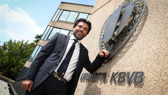 Belgische voetbalbond heeft nieuwe voorzitter: Mehdi Bayat (en hij wil Nederlands leren)