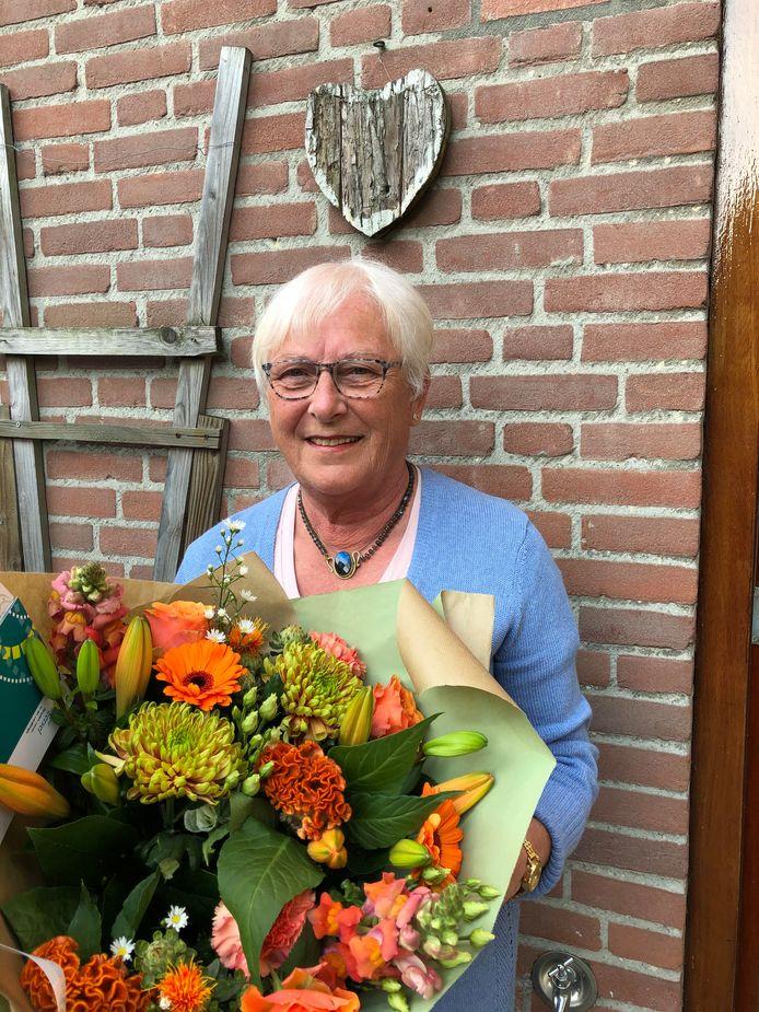 Rita de Laat-van der Vleuten werd onderscheiden als Lid in de Orde van Oranje-Nassau.