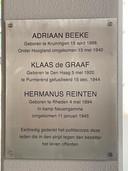 Een nieuwe plaquette die binnenkort officieel wordt onthuld in het politiebureau van Amersfoort.