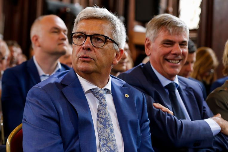 Kris Van Dijck (N-VA). Beeld BELGA