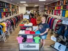 Patricia zat met haar printshop voor kleding eerst op Sint-Maarten en nu in Helmond