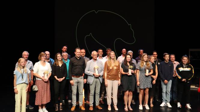 Vijf Gouden Beren voor verdienstelijke sporters en sportclubs