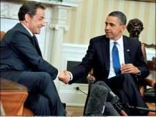 Sarkozy et Obama d'accord sur le recours à l'Otan en soutien de la coalition