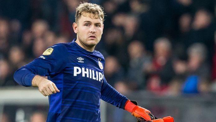 PSV-doelman Jeroen Zoet.