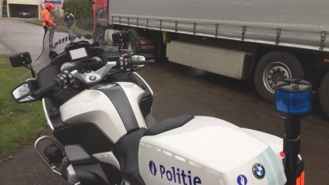 Controlediensten op zwaar vervoer schrijven 14 000 euro aan boetes uit