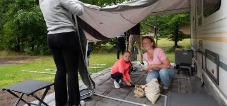 Campinggasten laten kassa's op de Utrechtse Heuvelrug rinkelen: 'De hele dag in de tent is ook niet leuk'