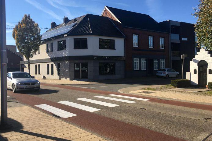 Oversteekplaats te Lommel.