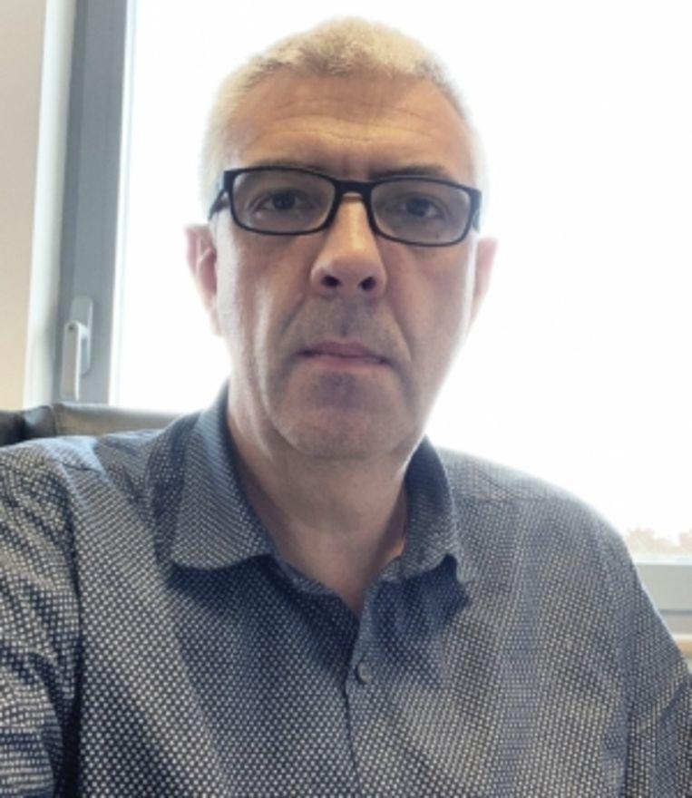 Marc Delforge: 'Ziekenhuizen zijn uitverkoren doelwitten voor internetpiraten omdat ze schatten aan gevoelige informatie bevatten.' Beeld