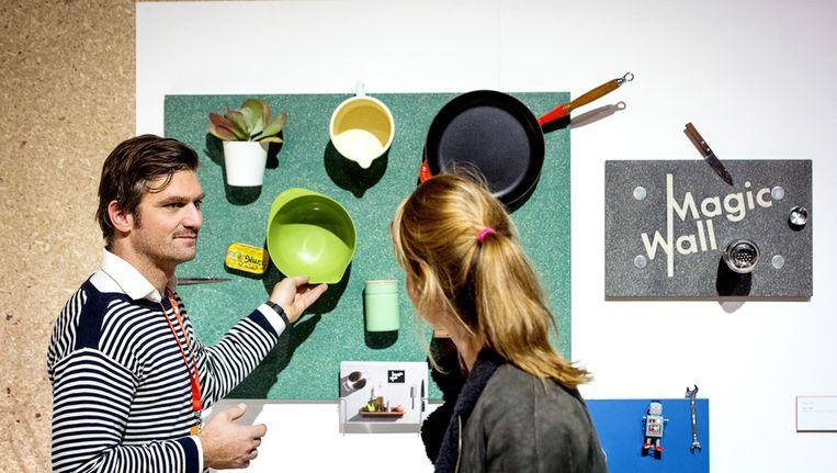 Bezoekers in 2013 op de Dutch Design Week in Eindhoven. Beeld anp