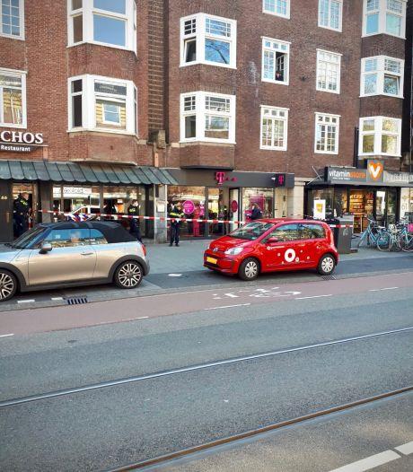 Gewapende overval op telecomwinkel Beethovenstraat
