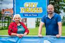 Linda Rusbach en Philip Van Dooren zijn twee van de drijvende krachten achter City Pirates vandaag.