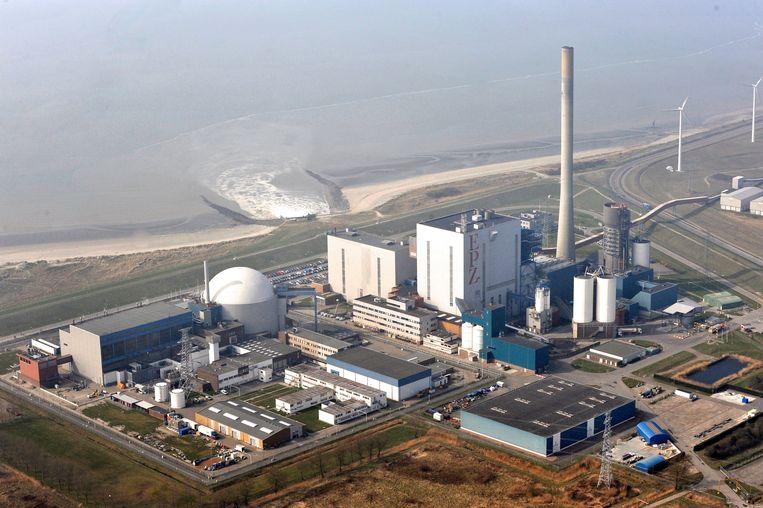 De kerncentrale van Borssele.  Beeld ANP