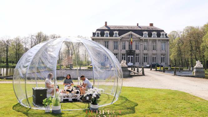 Een dagje verwend worden zoals een prins en prinses: glamoreus picknicken in tuin van kasteel van Leeuwergem