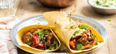 Wat Eten We Vandaag: Kip tandoori-wraps van de BBQ