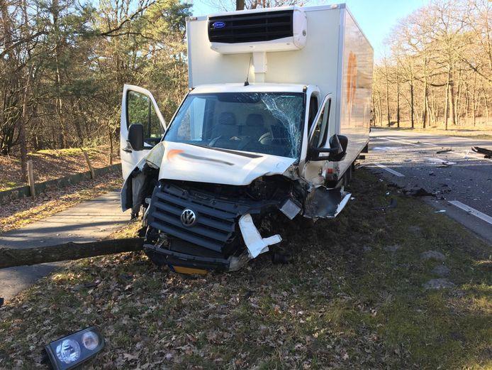 Ongeval op N282 bij Molenschot.