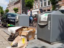 Afval dumpen op straat levert vrijwel nooit een boete op