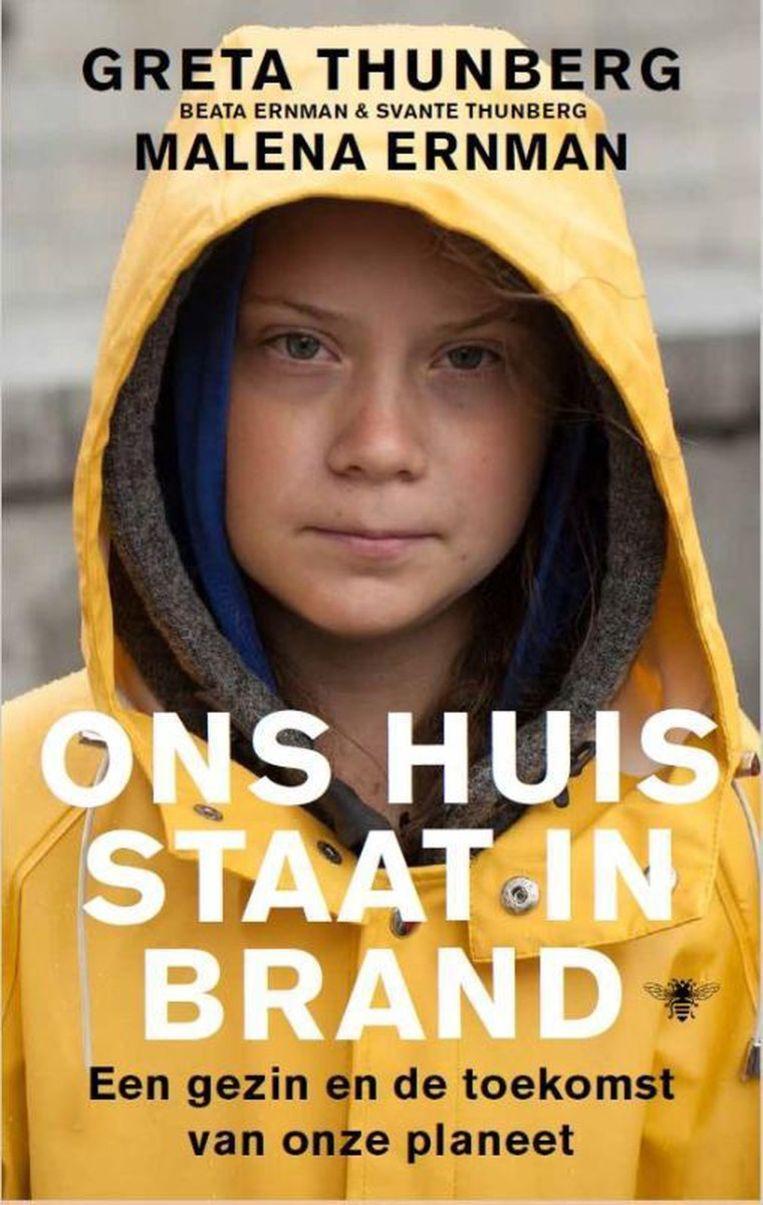 Greta Thunberg & Malena Ernman, 'Ons huis staat in brand', De Bezige Bij Beeld Humo