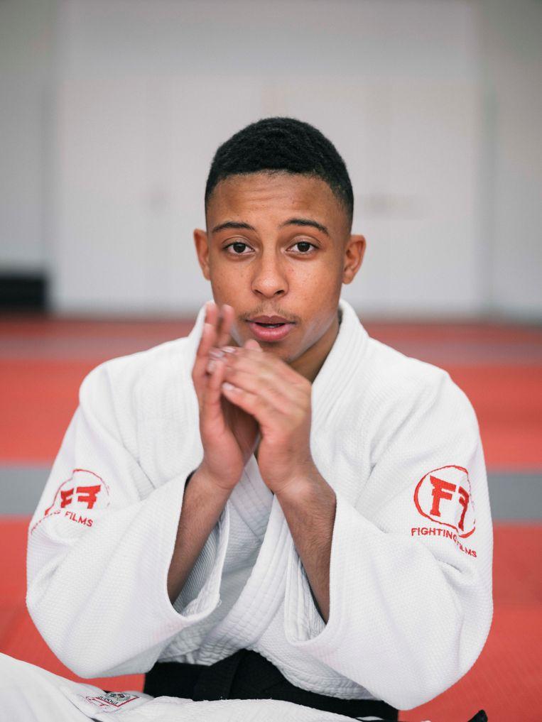 Jason Wong, judoka Beeld Nienke Veneboer