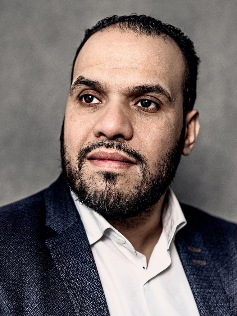 Yassin Elforkani stopt als hoofdimam van de Blauwe Moskee.  Beeld Jitske Schols